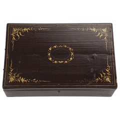 Chinese Export Lacquer Document Box