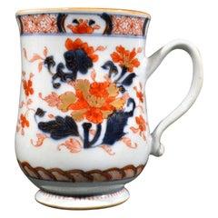 Chinese Export Porcelain Imari Bell-Shaped Large Tankard, circa 1740