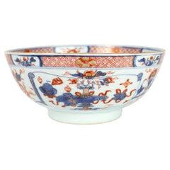 Chinese Export Porcelain Imari Bowl, Qianlong '1736-1795'