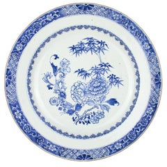 Chinese Export Porcelain Plate, Qianlong