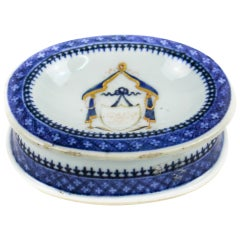 Chinese Export Porcelain Salt-Cellar, Qianlong Period '1736-1795'
