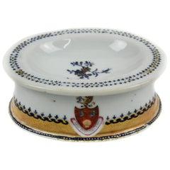 Chinese Export Porcelain Salt-Cellar, Qianlong Period, '1736-1795'