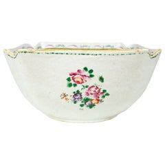 Chinese Export Porcelain Square Bowl, Qianlong