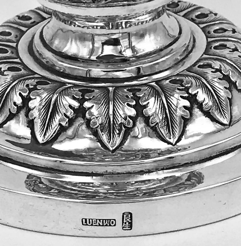 Chinese Export Silver Goblet For Sale 6
