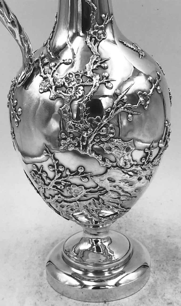Chinese Export Silver Jug In Good Condition For Sale In London, GB