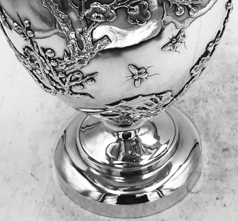 Chinese Export Silver Jug For Sale 4