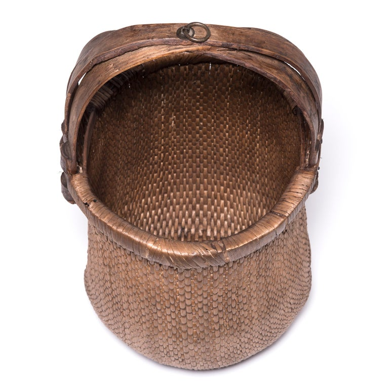 Chinese Fisherman's Basket, circa 1900 In Good Condition For Sale In Chicago, IL