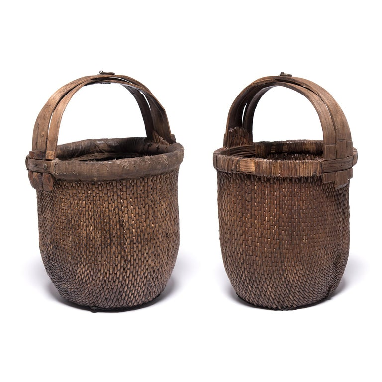 20th Century Chinese Fisherman's Basket, circa 1900 For Sale