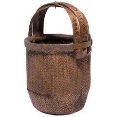 Chinese Fisherman's Basket, circa 1900