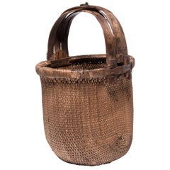 Chinese Fisherman's Basket, circa 1900
