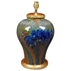 Chinese Flambé Glazed Table Lamp