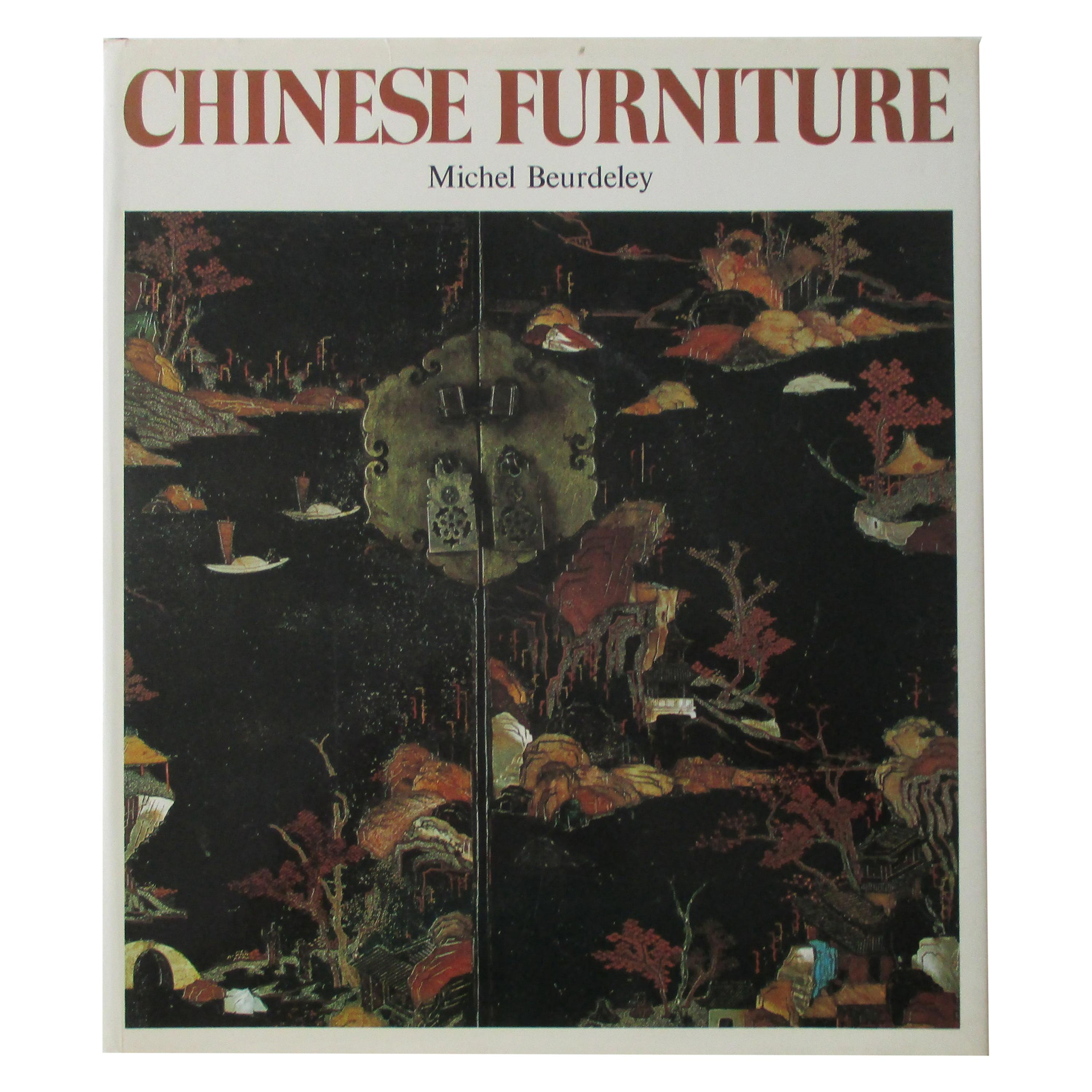 Chinese Furniture Hard Cover Book
