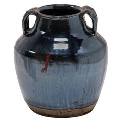 Chinese Glazed Soy Vessel, circa 1900