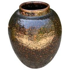 Chinese Glazed Terracotta Urn