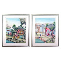 Chinese Gouache and Watercolor Paintings of Chinese Life, circa 1850-1880