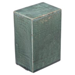 Chinese Green Glazed Ceramic Headrest