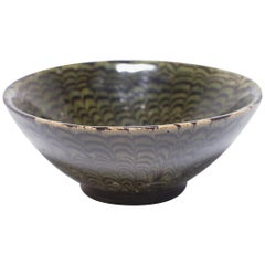 Chinese Green Marble Ware Bowl