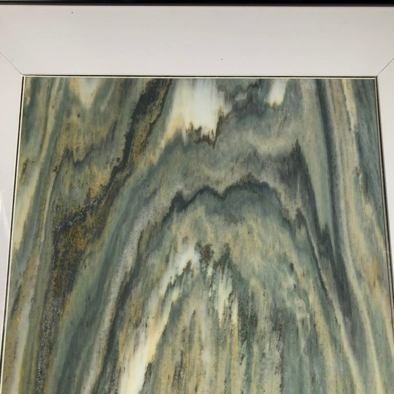 Hand-Carved Green Mountains Extraordinary Natural Stone