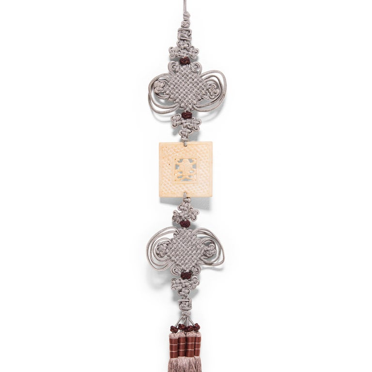 Chinese knotted tassels are used to add elegance to everyday items like hairpins or lanterns. They often hold sentimental value, and are passed down through families for generations. In ancient times lovers sometimes gave knots as tokens of their