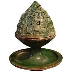 Chinese Han Dynasty Green Glazed Censer, Boshanlu, Ex Robert Ellsworth