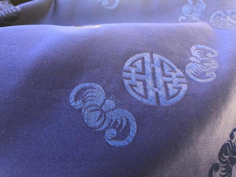 Chinese Handmade Silk Coat For Sale 1