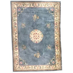 Chinese Hand Tufted Vintage Rug