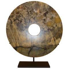 Chinese Hard Stone Disc