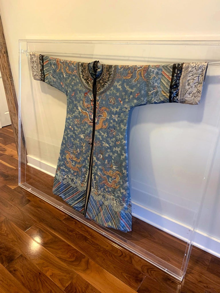 Chinese Imperial Dragon Robe Qing Dynasty For Sale 5