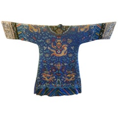 Chinese Imperial Dragon Robe Qing Dynasty