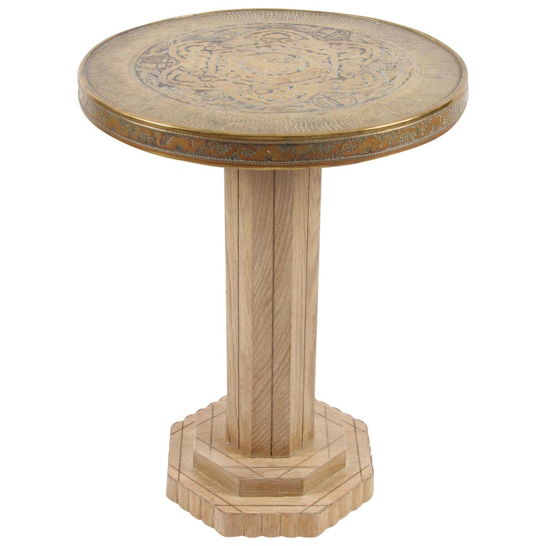 Chinese Influence Side Table For Sale