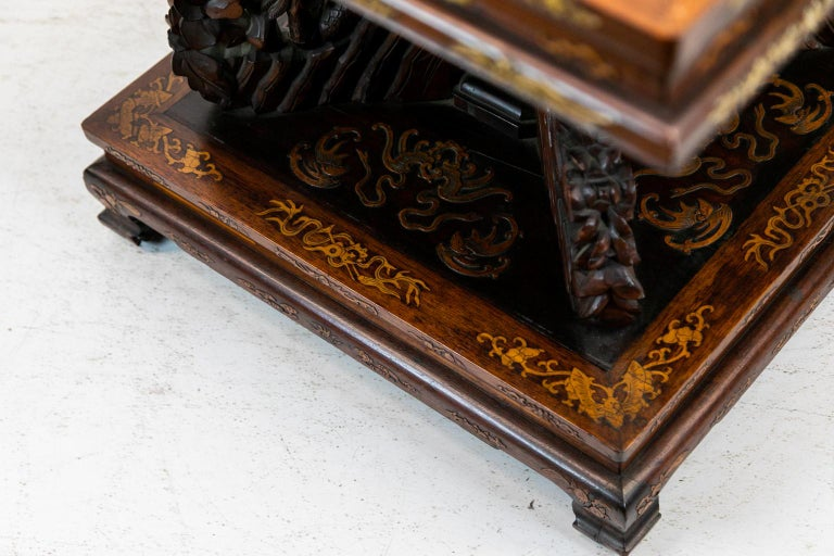 Chinese Inlaid Center Table For Sale 6