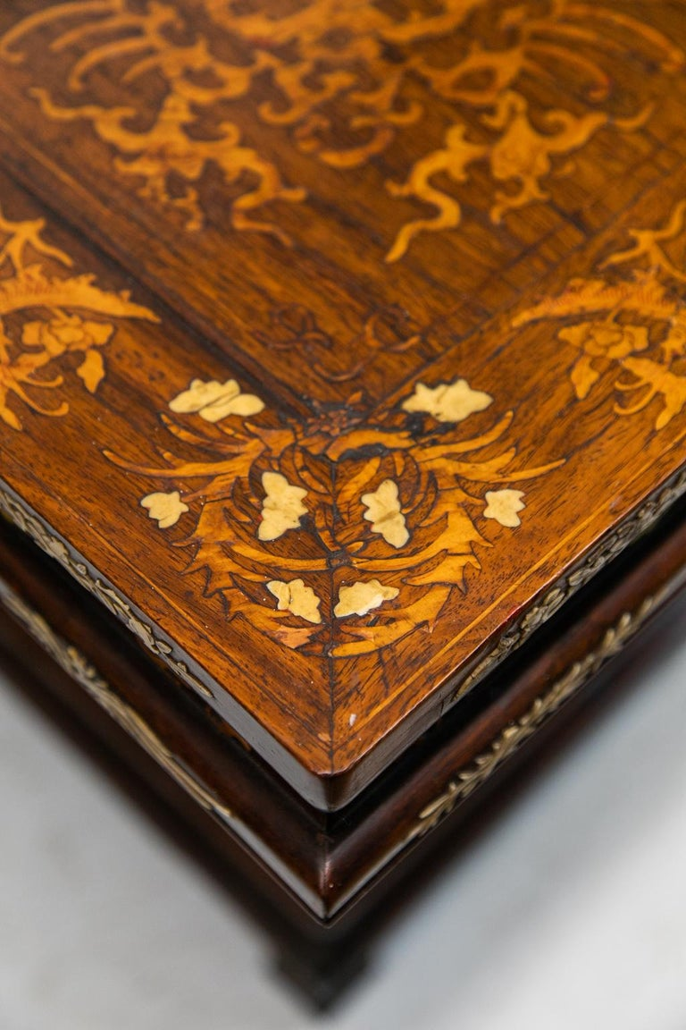 Chinese Inlaid Center Table For Sale 3