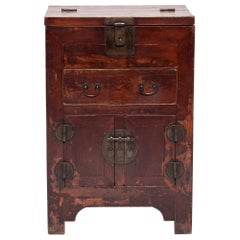 Chinese Lacquered Money Chest, circa 1850