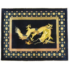 Chinese Large Dragon Rug