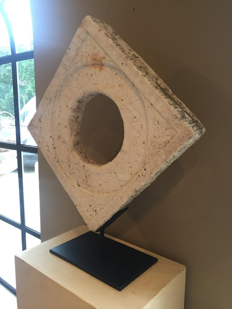 Chinese Marble Architectural Fragment Window For Sale 1