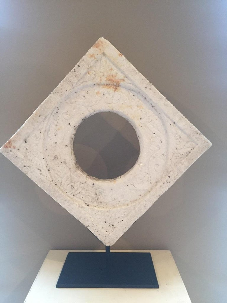 Chinese Marble Architectural Fragment Window For Sale 2