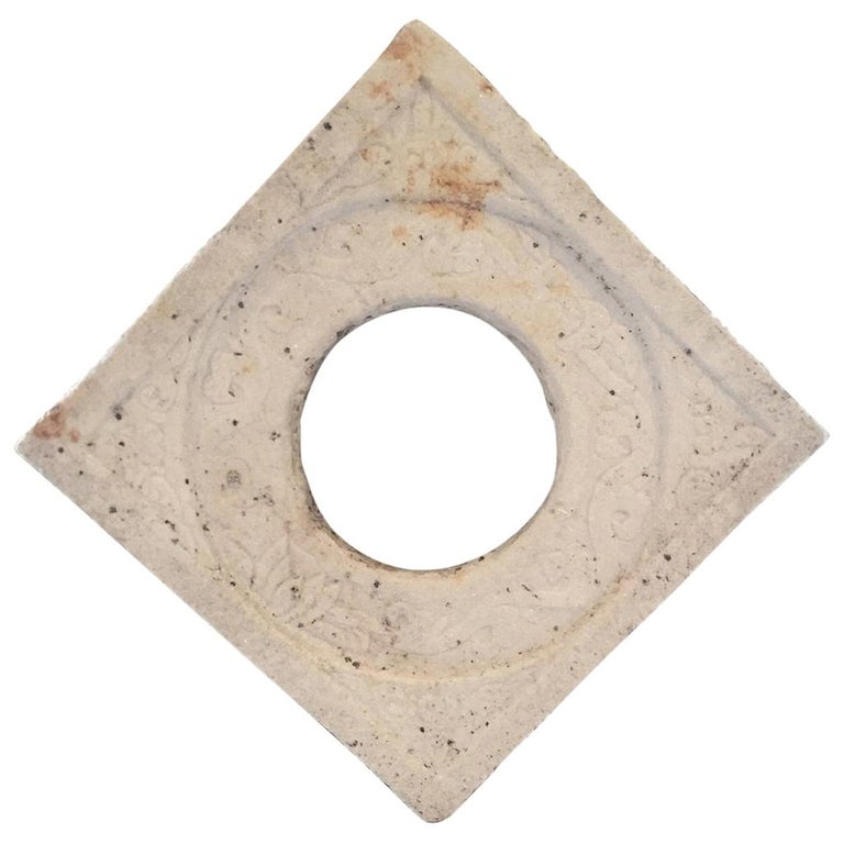 Chinese Marble Architectural Fragment Window For Sale