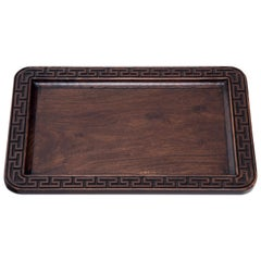 Chinese Meandering Tea Tray, circa 1900