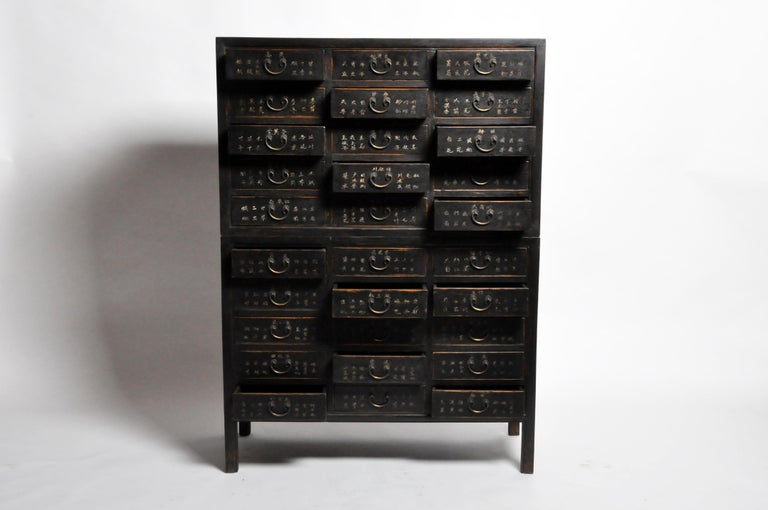Chinese Medicine Chest with Drawers For Sale 8