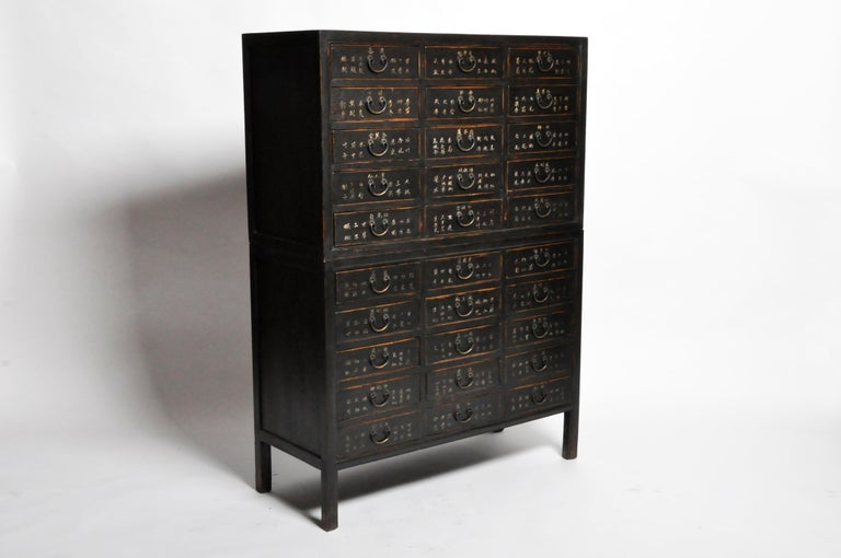 Chinese Medicine Chest with Drawers For Sale 12