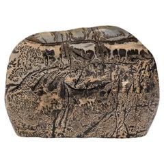 Chinese Meditation Painting Stone