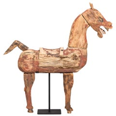 Chinese Ming Celestial Mingqi Horse Figure