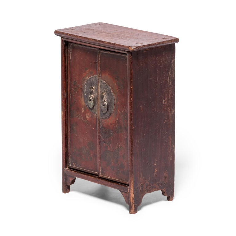 Qing Chinese Miniature Noodle Cabinet For Sale