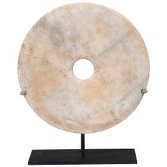 Chinese Mottled Bai Bi Disc