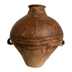 Chinese Neolithic Yangshao Culture Painted Pottery Amphora, circa 3500 BC