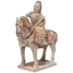 Chinese Northern Qi Equestrian Figure