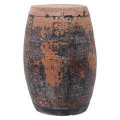 Chinese Painted Drum Stool, c. 1900