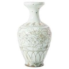 Chinese Painted Glaze Ceramic Vase