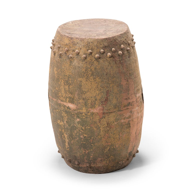 Chinese Pingyao Garden Stool In Good Condition For Sale In Chicago, IL