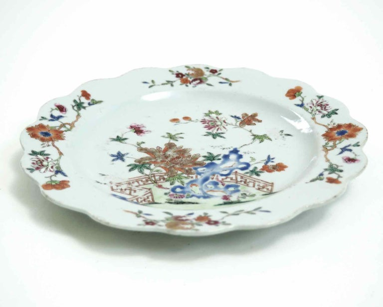 Chinese plate, 18th century